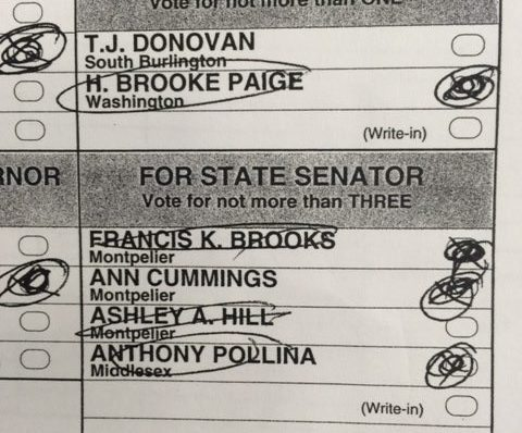 Brooks beats out Hill in recount of Washington County Senate race