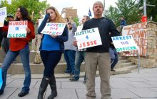 Dozens rally in Winooski one week after fatal police shooting