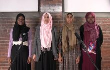 Muslim Girls Making Change bring slam poetry to Rutland