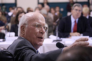 Sen. Patrick Leahy, D-Vt. Photo by Terry J. Allen