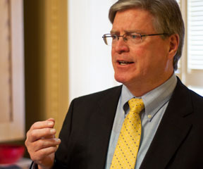Sen. John Campbell, file photo by Josh Larkin.