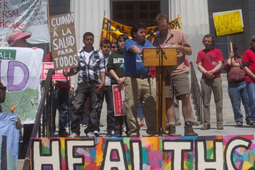 Health Care Rally, May 1, 2011. VTD/Terry Allen.