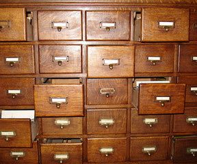 Filing cabinet. Some rights reserved by mightymightymatze via Flickr