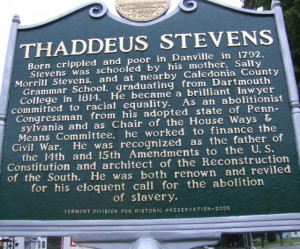 Historical marker in Danville. Photo by Dirk Van Susteren