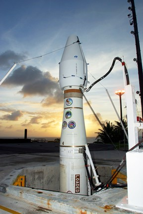 A ground-based Midcourse Defense (GMD) interceptor in launch silo. Missile Defense Agency photo