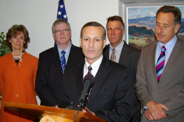 Don George, CEO of Blue Cross and Blue Shield of Vermont, supported the decision to extend existing health care plans beyond Jan. 1. Photo by Andrew Stein/VTDigger