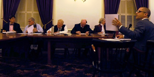 The Property Tax Exemption Study Committee members retracted their proposal to levy a marginal tax on public, pious and charitable organizations in Vermont. Photo by Hilary Niles/VTDigger