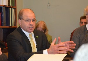 Secretary Lawrence Miller testifies in front of the House Appropriations Committee Tuesday. Photo by Alicia Freese/VTDigger