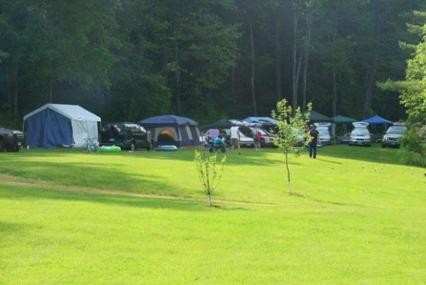 The Winhall Brook Camping Area in South Londonderry. U.S. Army Corps of Engineers photo