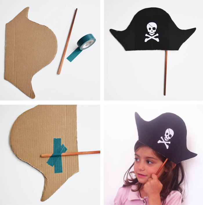 Как сделать повязку глаз пирата своими руками