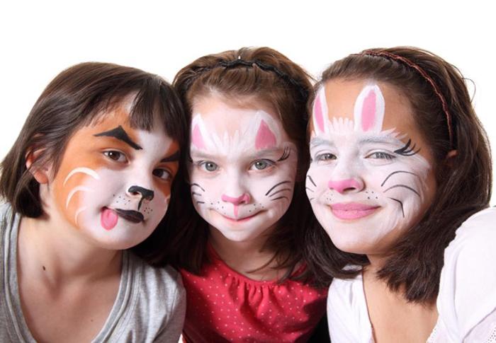 Аквагрим для детей: фото,