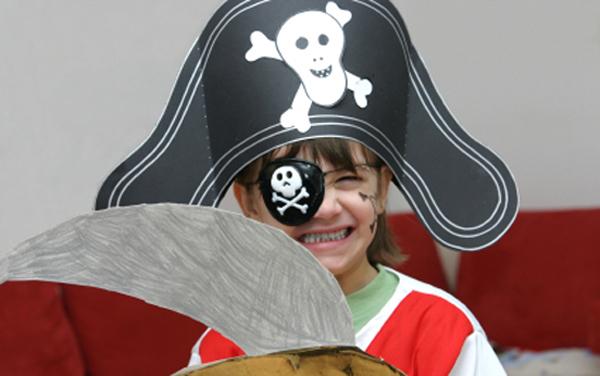 Шляпы пирата своими руками
