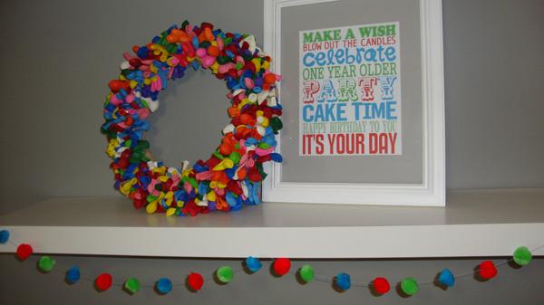 Бумажные гирлянды своими руками на день рождения