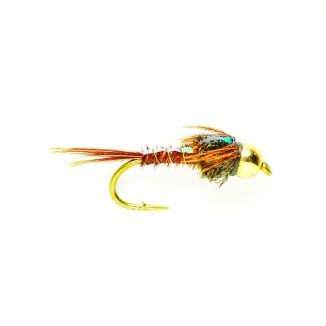 """Pheasant Tail Nymph """"Because we're a little ahead of schedule at this point, there's a chance we could start getting some fly activity early and this is a great imitation of a mayfly."""""""