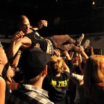 The Ups and Downs of Crowd Surfing