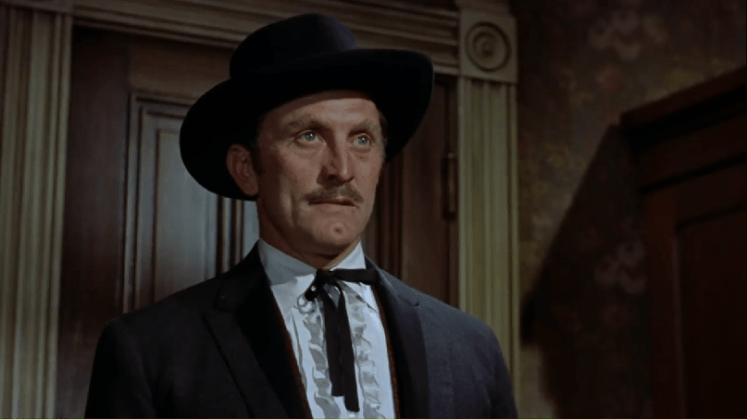 "Kirk Douglas in ""Gunfight At The O. K. Corral"""