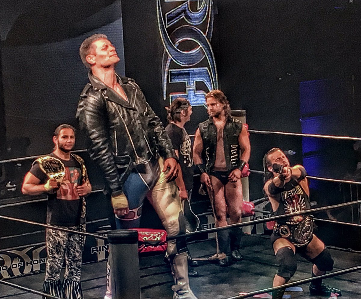 Ring Of Honor Survival Of The Fittest