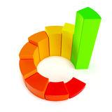 de-groei-cirkelgrafiek-42817374
