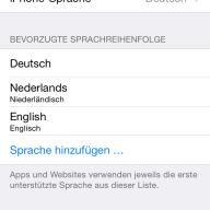 Iphone Instellen
