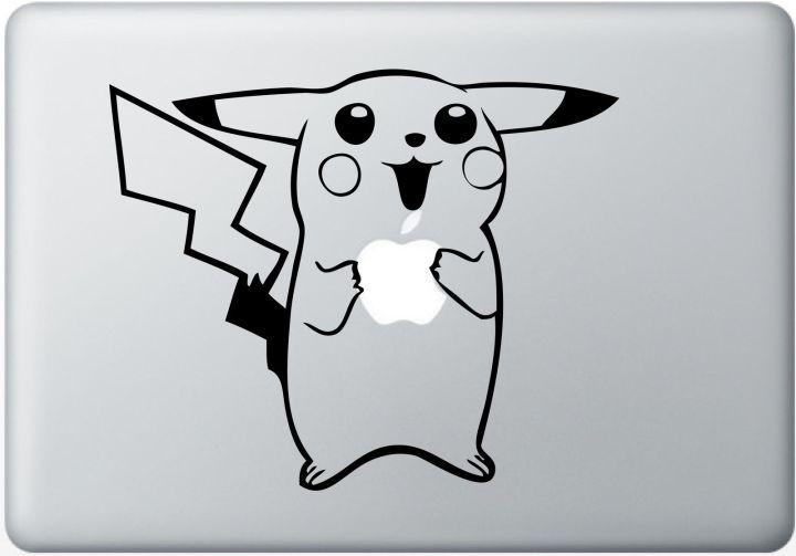 Pokemon-Large-Macbook-Decal-Humor-Laptop-Sticker-Pikachu