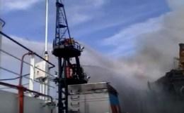 SOCAR: на газовой скважине произошел газовый фонтан, а не пожар. Обновлено