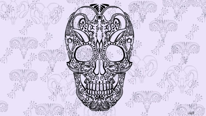 Large Of Sugar Skull Wallpaper