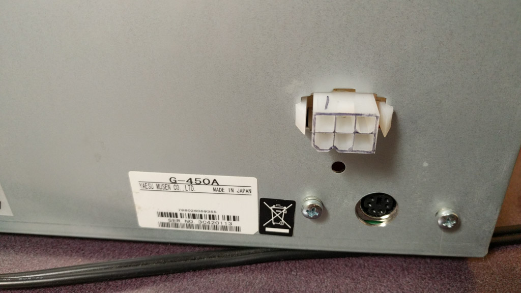 No More Proprietary Connector On My G450a - Wiring Diagram