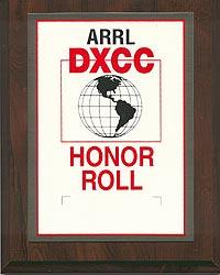 ARRL DXCC Honor Roll
