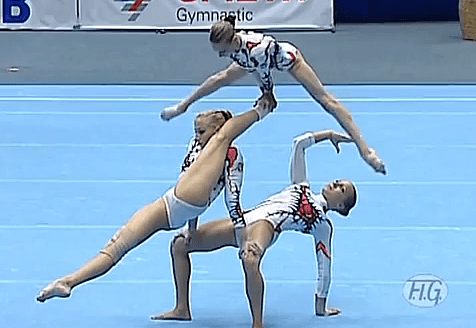 gymnast wardrobe malfunction