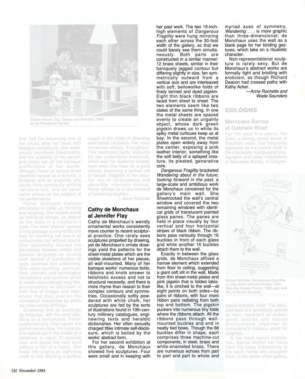 art_in_america_1994_demonchaux_page142