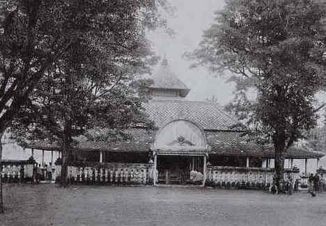 Masjid Kauman tahun 1888 Foto Foto Kota Jogja Tempo Doeloe