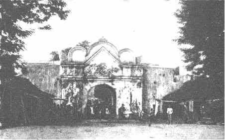 Plengkung Ngasem tahun 1809 Foto Foto Kota Jogja Tempo Doeloe