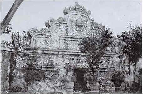 Tamansari tahun 1881 Foto Foto Kota Jogja Tempo Doeloe