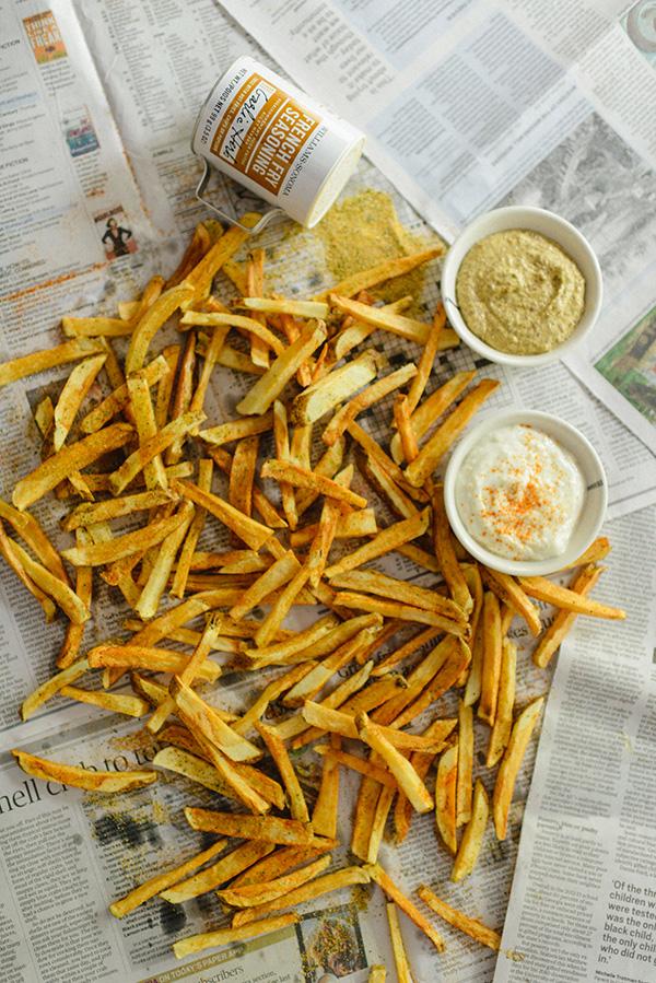 Homemade French Fries and Garlic Aioli Dipping Sauce, Waiting On Martha