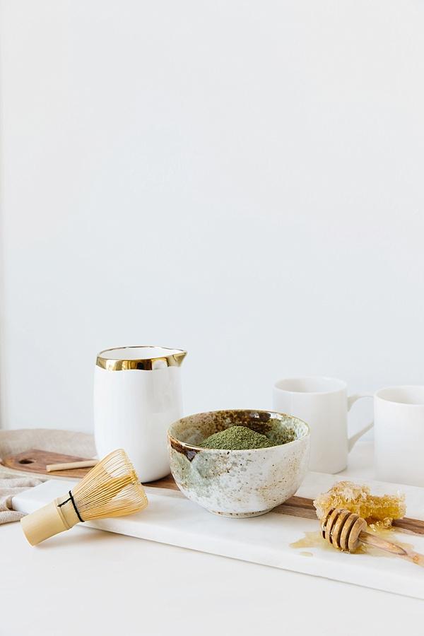 Making a matcha tea latte at home | waitingonmartha.com