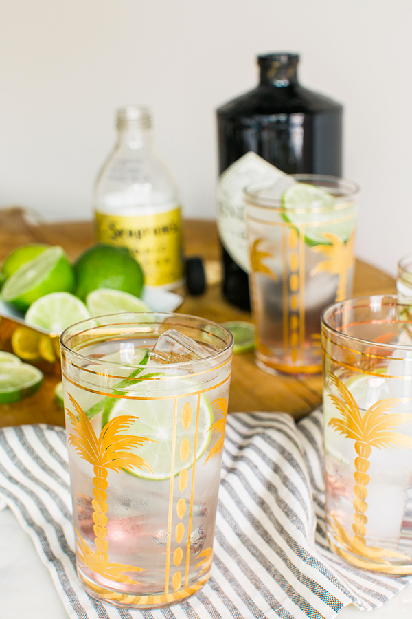 Classic Gin and Tonic by Waiting on Martha #recipe #cocktail