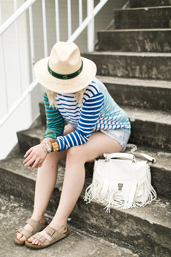 Summer stripes, Waiting on Martha outfit ideas
