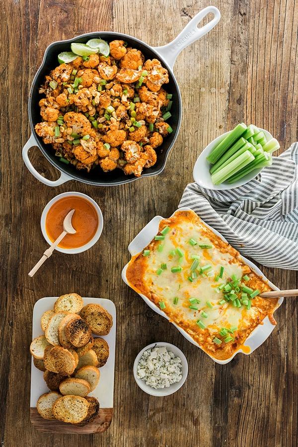 Spicy Buffalo Cauliflower Bites recipe by @waitingonmartha