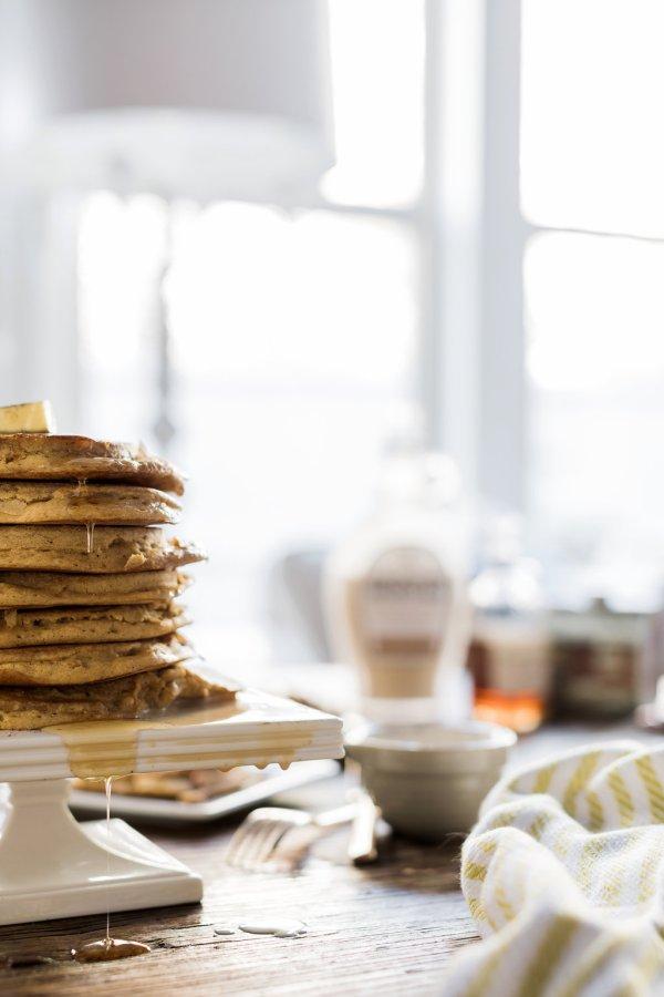 Christmas pancakes, @waitingonmartha