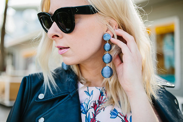 blue Les Bonbons earrings on waitingonmartha.com