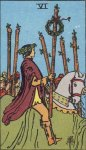 VI of Wands