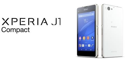 Xperia J1 Compact D5788 SIMフリー本体