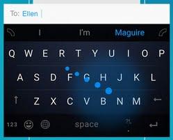 Word Flow Keyboard画像