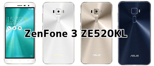 ZenFone 3 ZE520KL ASUSのSIMフリースマホの価格、口コミ評価、レビュー、スペックについて トップ画像