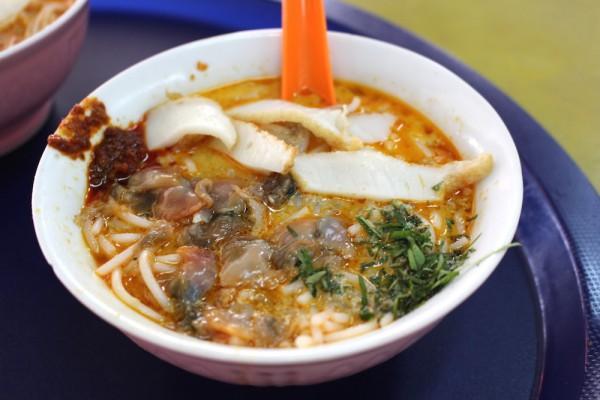 シンガポール・美味しいラクサ