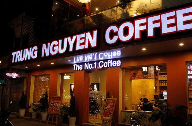 ちょっと高級感が欲しいとき。TRUNG NGUYEN COFFEE