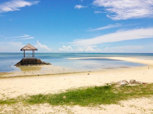 ホテルが集まるマクタン島周辺の安全性