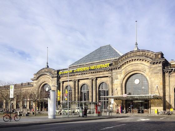 ドレスデンNeustad(新市街)駅