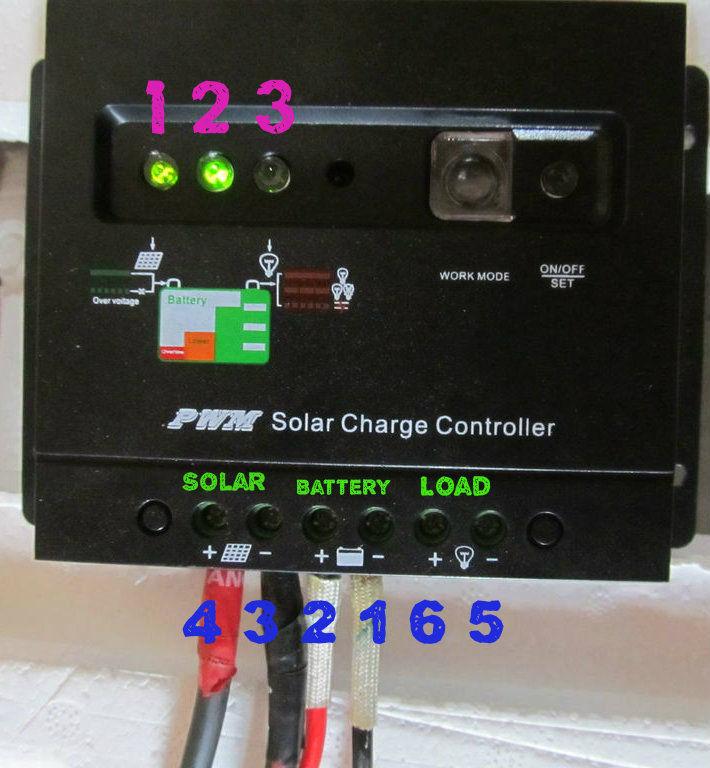 Charge Controller Closeup