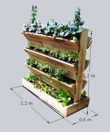 Freestanding garden